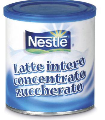 Latta latte intero concentrato succherato